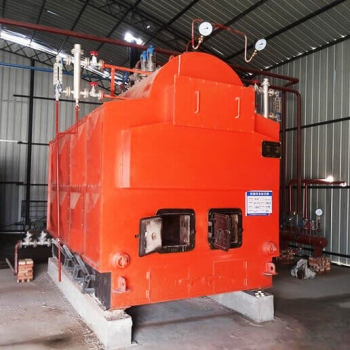 The new installed DZH2-1.25-T, 2tons/h coal biomass fired steam boiler in Philippines