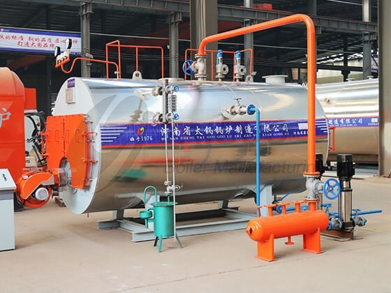 Quick Assembly Oil & Gas Fired Steam Boiler