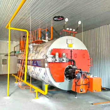 TAIGUO 1.5TON/H Gas Steam Boiler is Working in Jeddah, Saudi Arabia